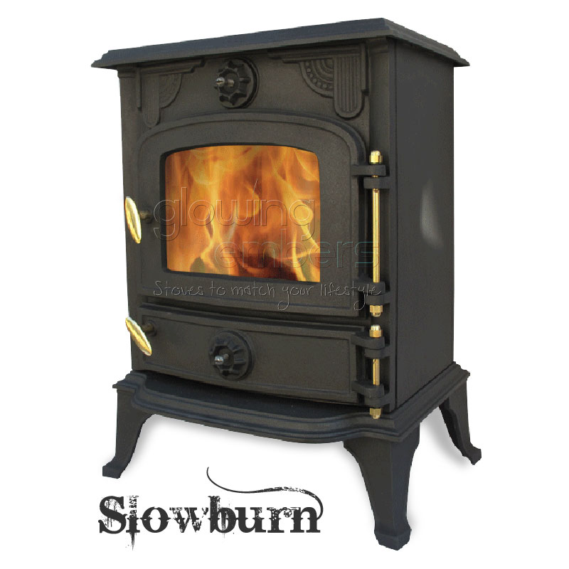 Cast Iron Wood Burning 5kw Multifuel Stove Slowburn Z2