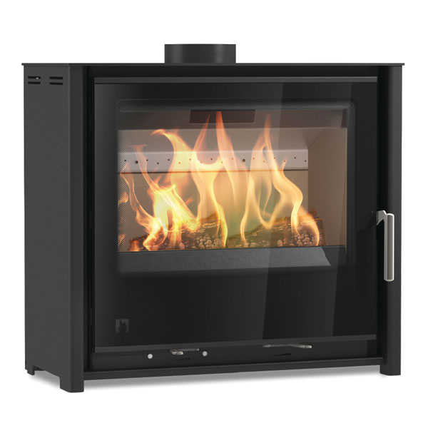 Arada i600 Low - 4.9kw Defra Multifuel Wood Burning Stove Slimline