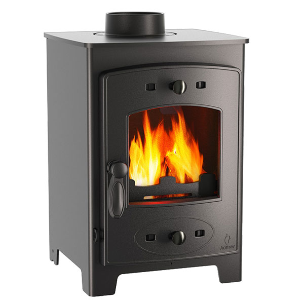 Aarrow Acorn View 4kw Multifuel Wood Burning Stove