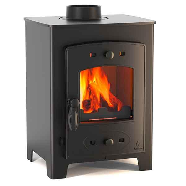 small wood burning stoves 4kw 6kw multi fuel wood burners