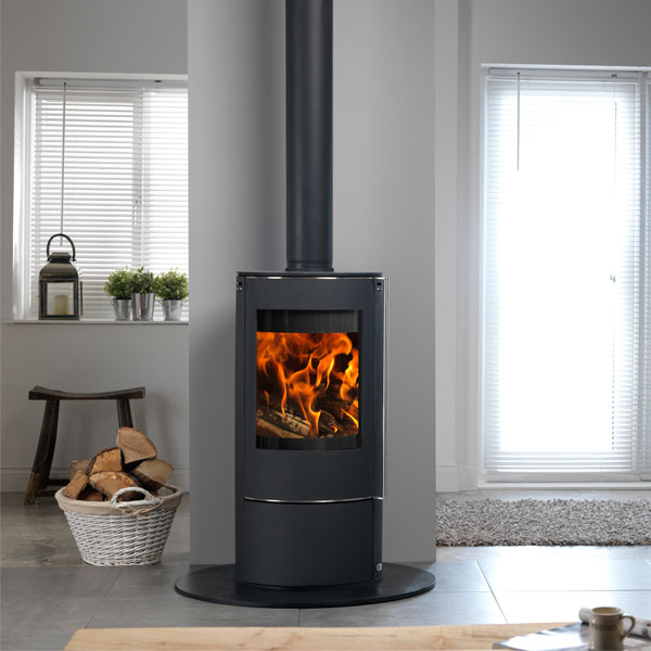 ACR Solis 5kw Defra Approved Multifuel Stove