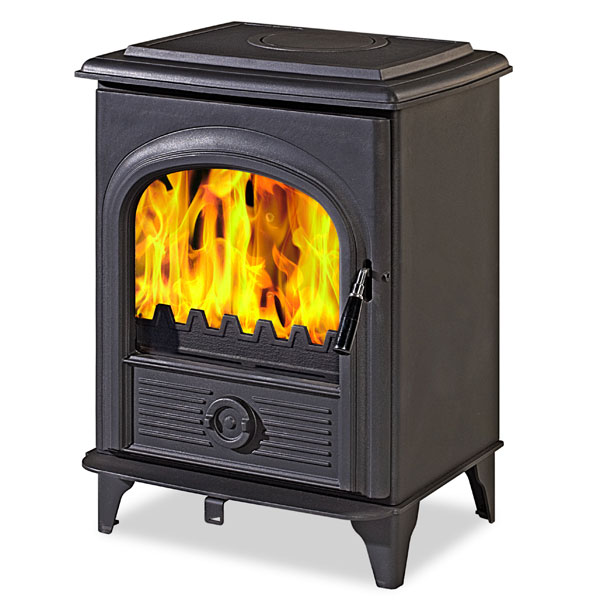 The Alpha I 4.9kw Defra Approved Multifuel Woodburning Stove
