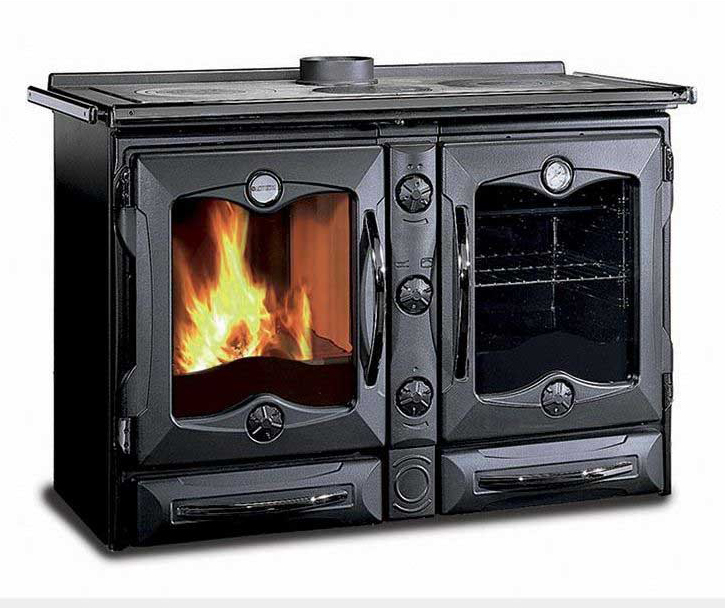 La Nordica America Wood Burning Range Cooker