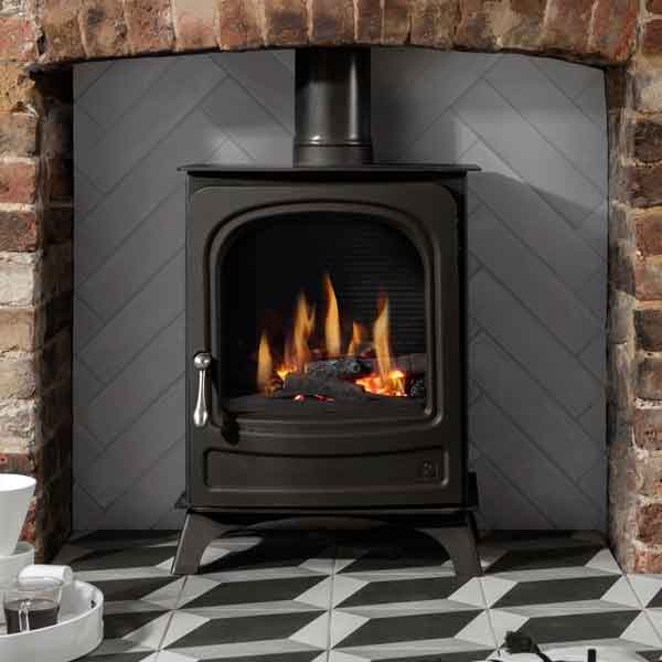 Arada Holborn National Gas Stove 2.3kw - 5kw - For Conventional Flue