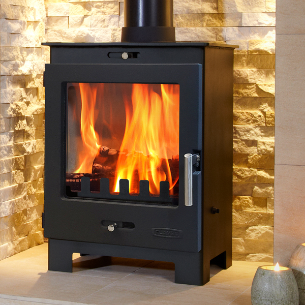 Flavel Arundel 4.9kw Defra Multifuel Wood Burning Stove