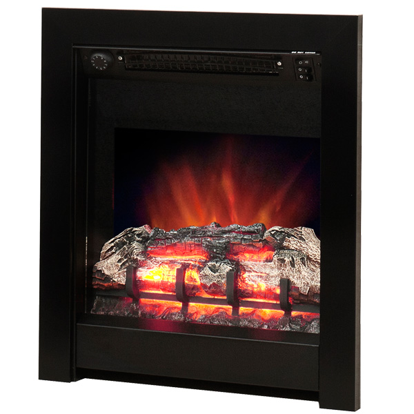 Be Modern Athena Inset LED Electric Fire - Black