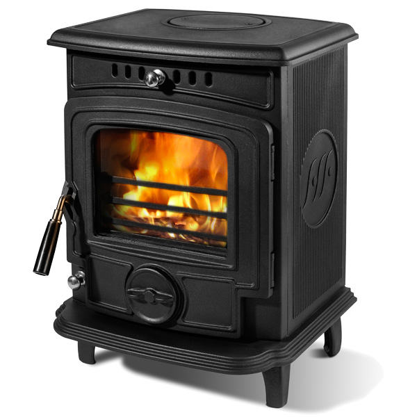 The Olymberyl Baby Gabriel 4.6kw Defra Approved Multifuel Stove