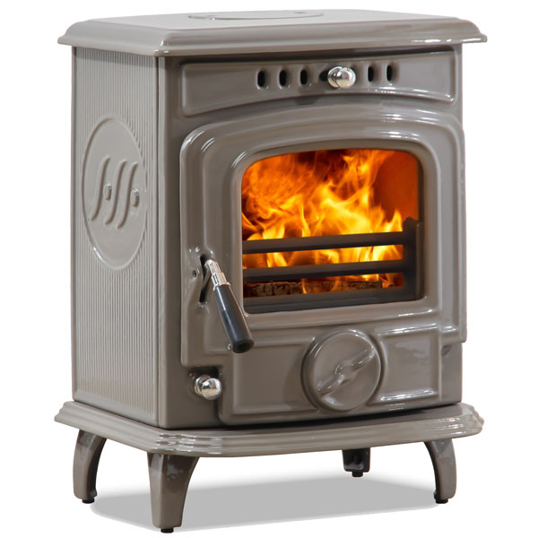 The Olymberyl Baby Gabriel 4.6kw Defra Approved Wood Burning Stove