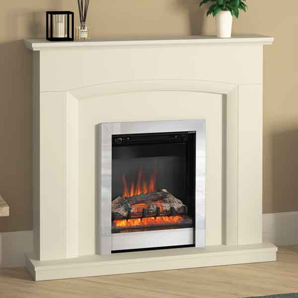 Be Modern Hayden Soft White Electric LED Fireplace