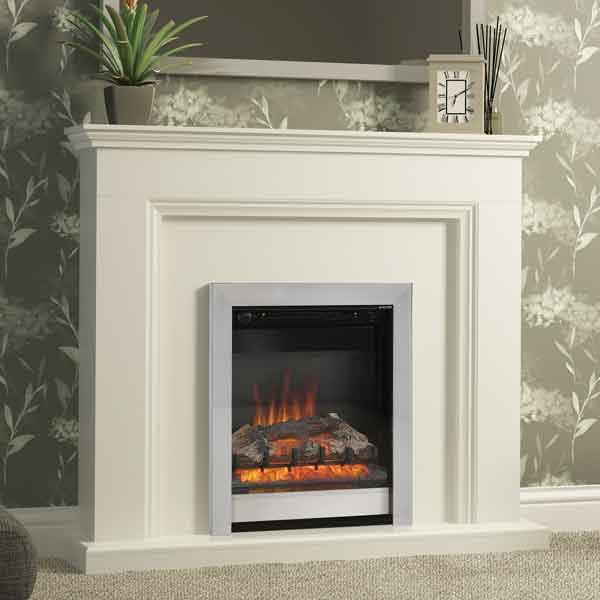 Be Modern Westcroft Soft White Electric LED Fireplace