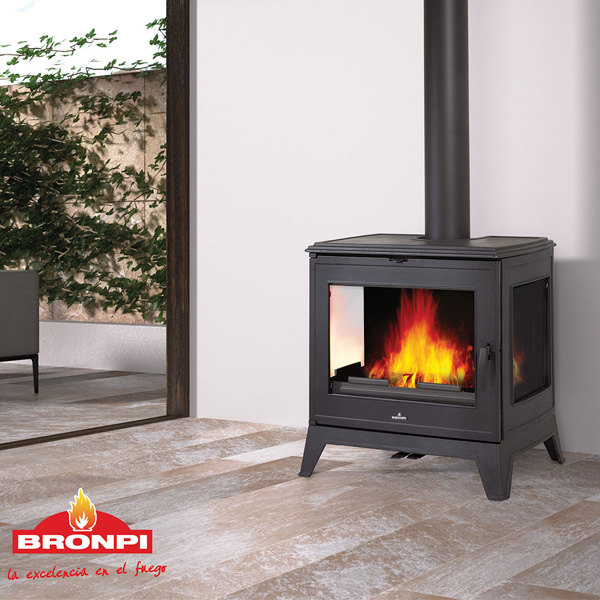 Bronpi Bury 14.6kw Wood Burning Stove