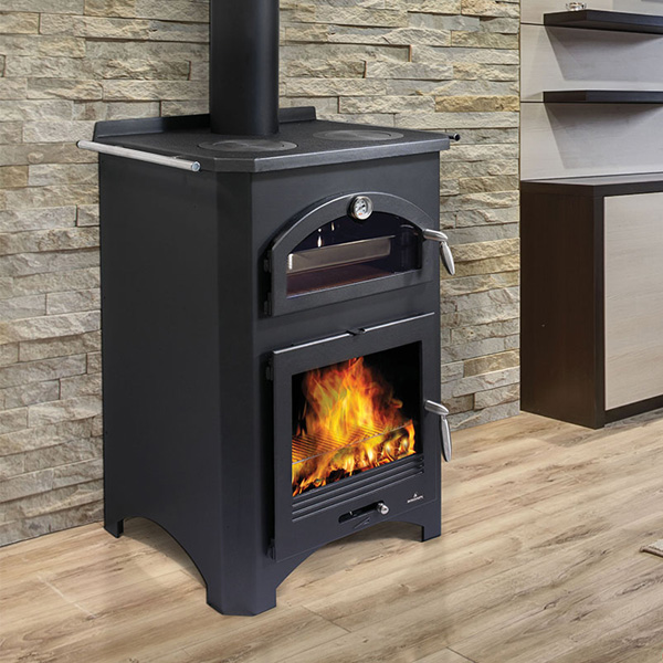 Bronpi Monza 9kw Wood Burning Stove