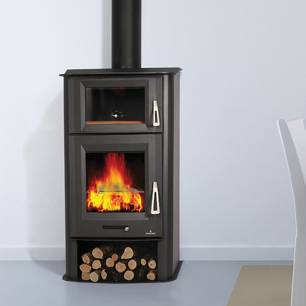 Bronpi Tudela 13kw Wood Burning Stove With Oven