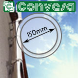 "6"" (150mm) Convesa KC Twin Wall Flue Pipe"