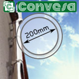 "8"" (200mm) Convesa KC Twin Wall Flue Pipe"
