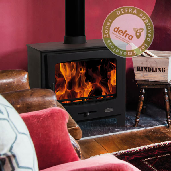Defra Approved 7kw - 9kw Medium Wood Burners
