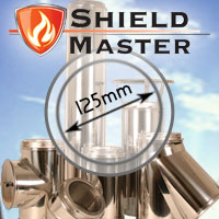 "5"" (125mm) Shieldmaster Twin Wall Flue Pipe"