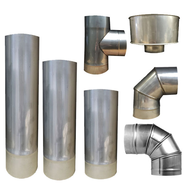 "5"" (125mm) Stainless Steel Flue Pipe"