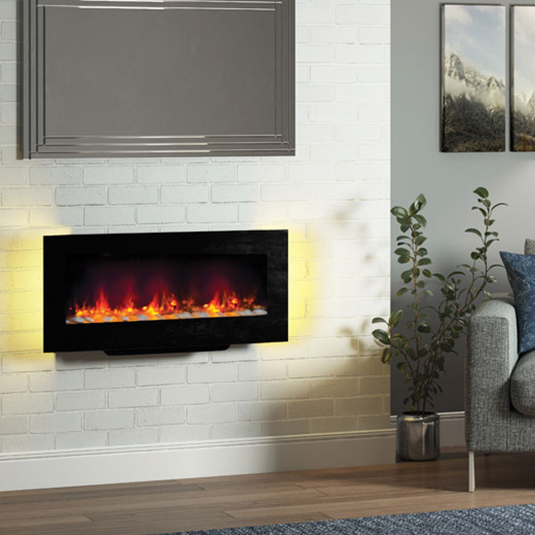 Wall Mounted LED Electric Fires