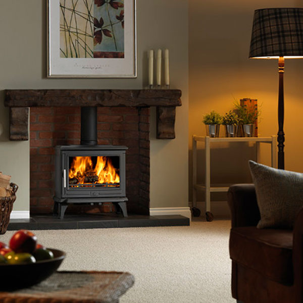 Enamelled Wood Burning Stoves