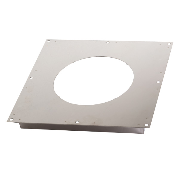 "6"" (150mm) Fire Stop Plate - For Twin Wall Flue Pipe"