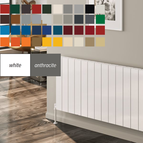 Radiators Available in Multiple Colours