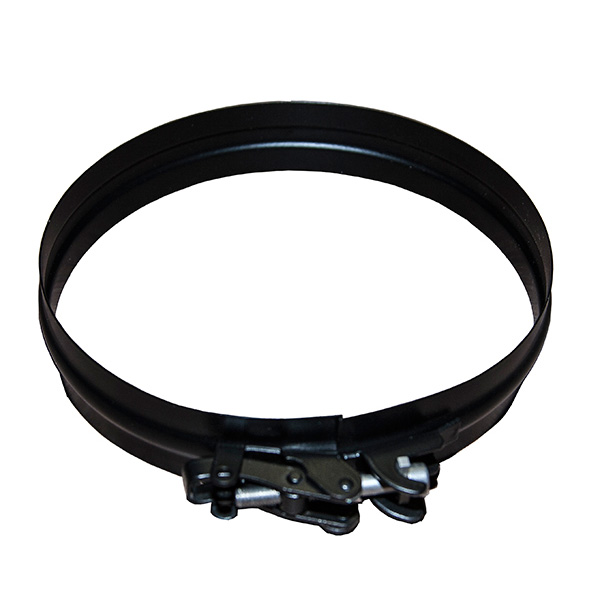 "5"" (125mm) Spare / Replacement Locking Band - For Twin Wall Flue Pipe - Black"