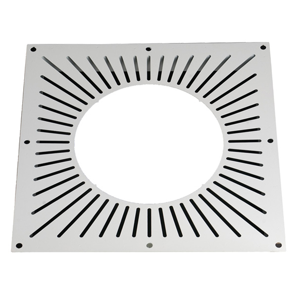 "6"" (150mm) Ventilated Fire Stop Plate - For Twin Wall Flue Pipe"