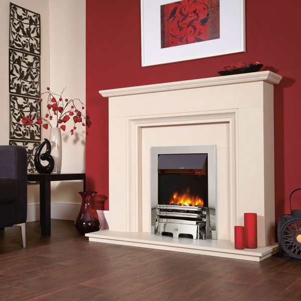 Celsi Accent Infusion 2kw Traditional Inset Electric Fire - Chrome