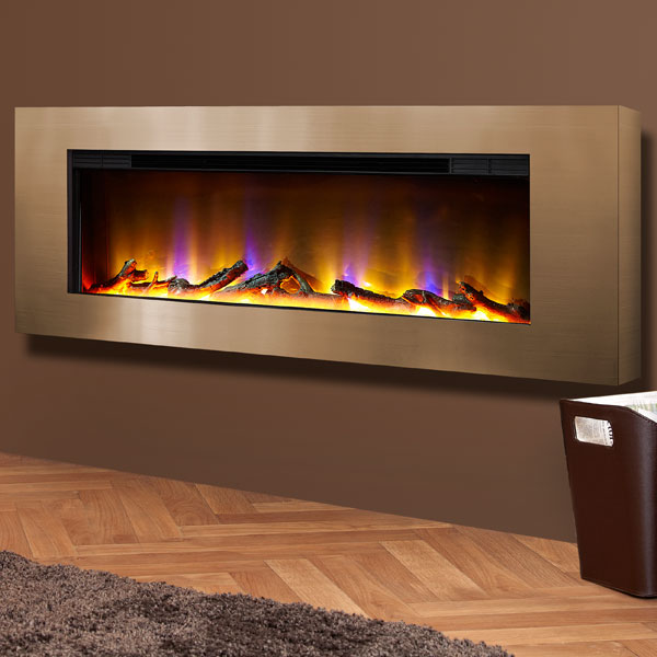 Celsi Electriflame VR Basilica 1.6kw Inset Electric Fire - Champagne