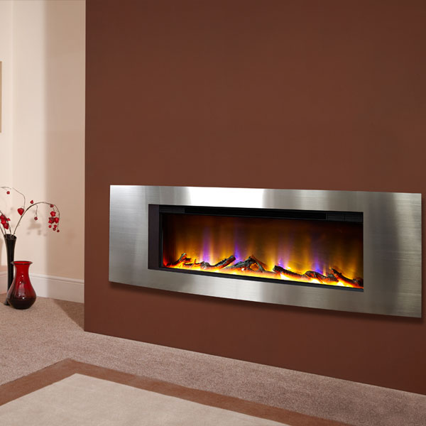 Celsi Electriflame VR Vichy 1.6kw Inset Electric Fire - Silver