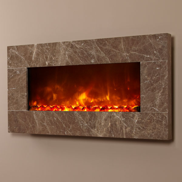 Celsi Electriflame XD 1100 Prestige Brown 1.5kw Wall Mounted Electric Fire
