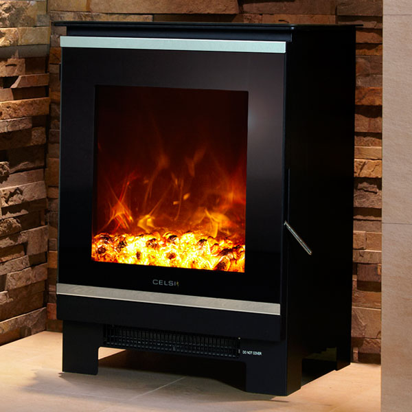 Celsi Electristove XD Glass 1 - 2kw Electric Stove