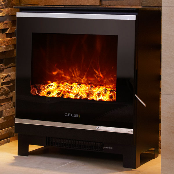 Celsi Electristove XD Glass 2 - 2kw Electric Stove