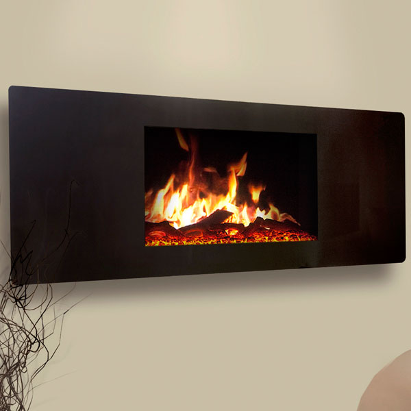 Celsi Puraflame 2kw Panoramic Wall Mounted Electric Fire