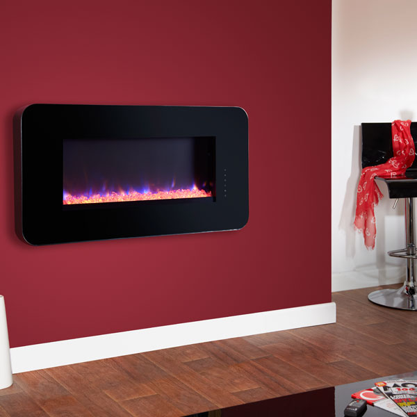 Celsi Touchflame 1.8kw Electric Fire - Black