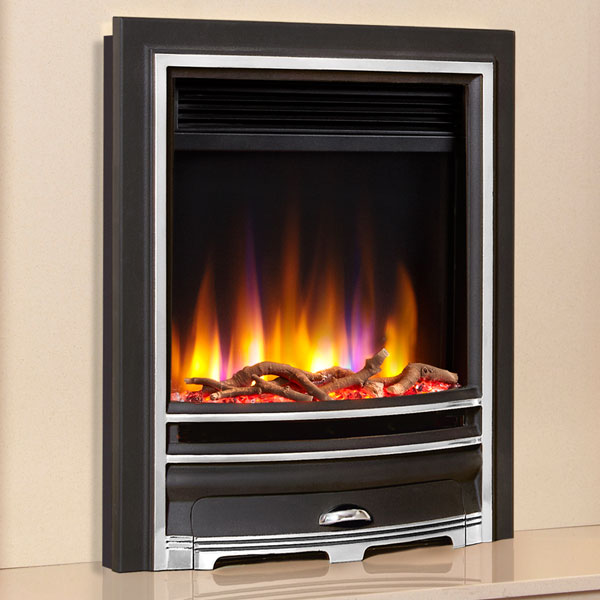 Celsi Ultiflame VR Arcadia 1.5kw Electric Fire - Chrome