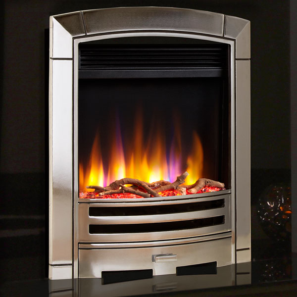Celsi Ultiflame VR Decadence 1.5kw Electric Fire - Chrome