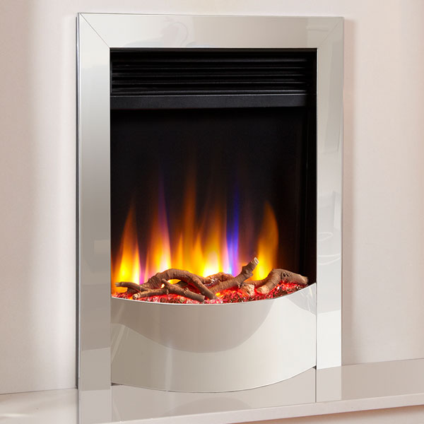 Celsi Ultiflame VR Endura 1.5kw Electric Fire - Chrome