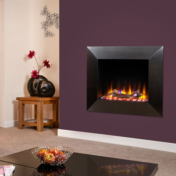 Celsi Ultiflame VR Impulse 1.6kw Electric Fire - Satin Black