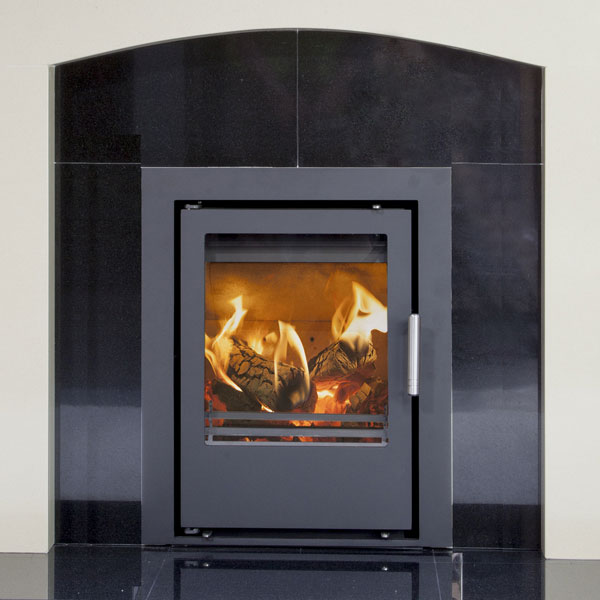 Mendip Christon 400 - 4.3kw Defra Inset Wood Burning Stove