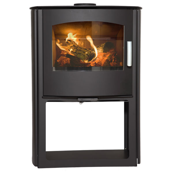 Mendip Churchill 10 MK4 - 9.5kw Defra Multifuel Convection Stove & Log Store