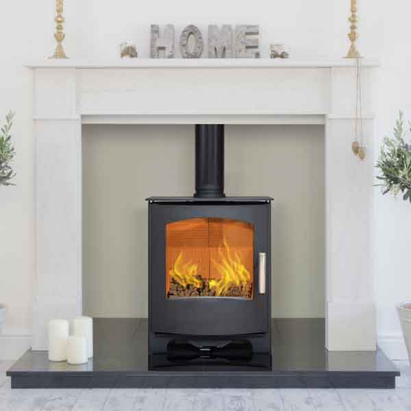 Mendip Churchill 5 - 5kw MK4 Defra Wood Burning Stove