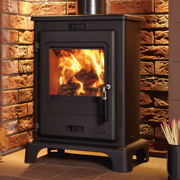 Flavel Dalton 4.9kw Multifuel Wood Burning Stove
