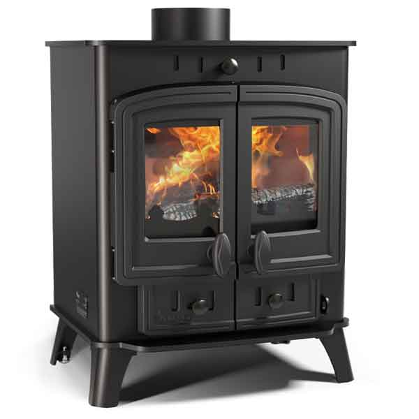 Villager 5 Duo 4.9kw Multifuel Wood Burning Stove