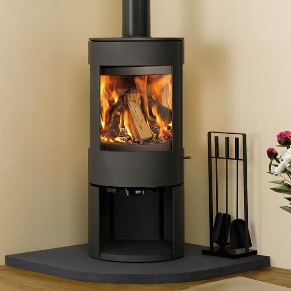 Dovre Astroline 3 8kw Wood Burning Stove With Log Store