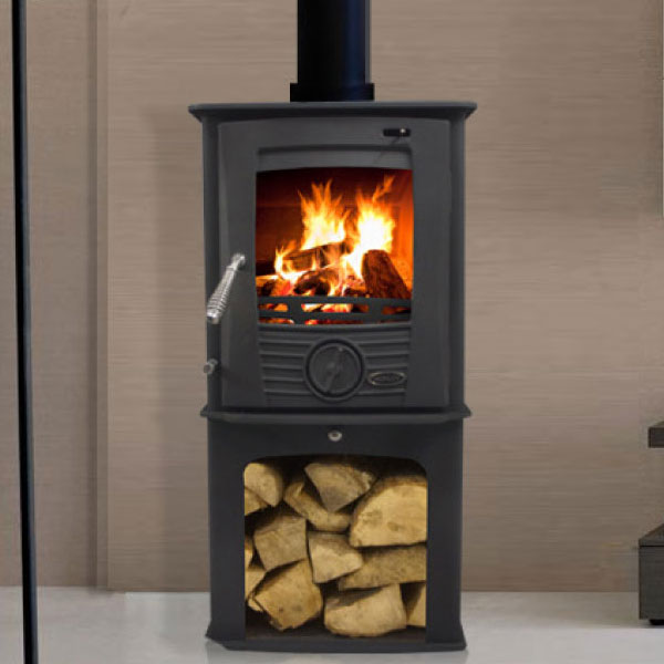 Henley Druid 5kw Defra Multifuel Stove With Log Box