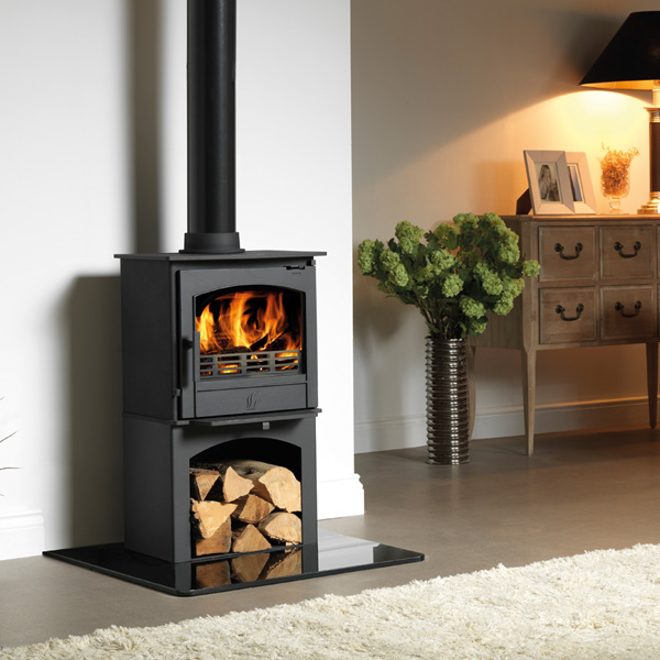 ACR Earlswood 5kw Defra Multifuel Stove With Log Store