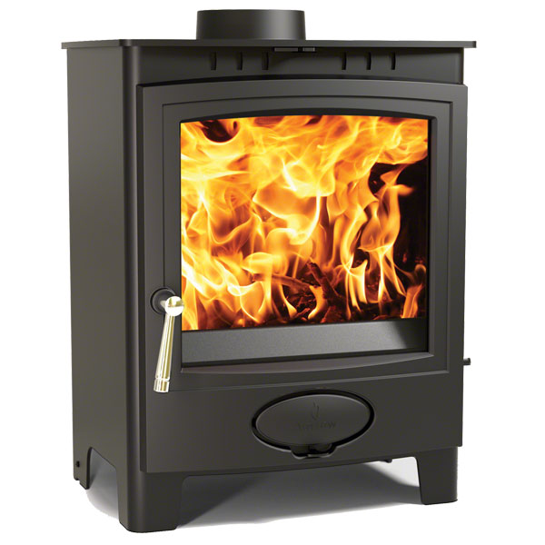 Arada Ecoburn Plus 7 - 6.1kw Multifuel Wood Burning Stove
