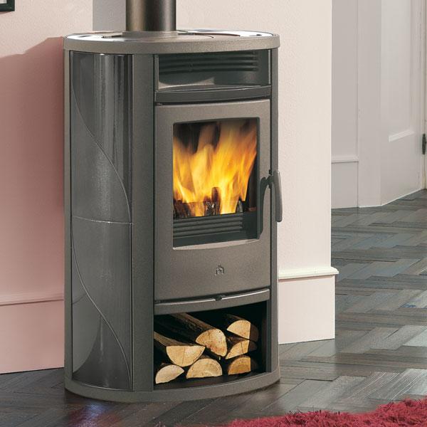 Edilkamin Lilia L 8 5kw Wood Burning Stove 163 1 617 39